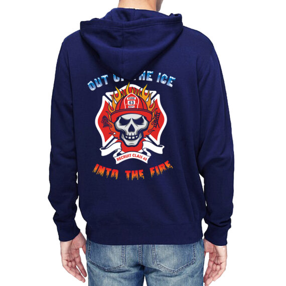 Out of The Ice Nvy Hoodie Men – Back