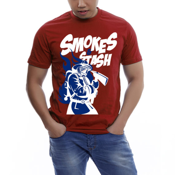 Smoke&Stash Cran Tshirt Men – Front
