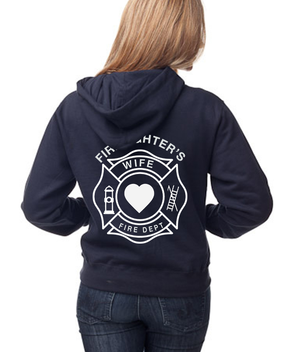 wife wmns navy back