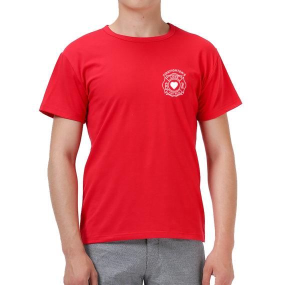 Firefighter Love Red Men – Front