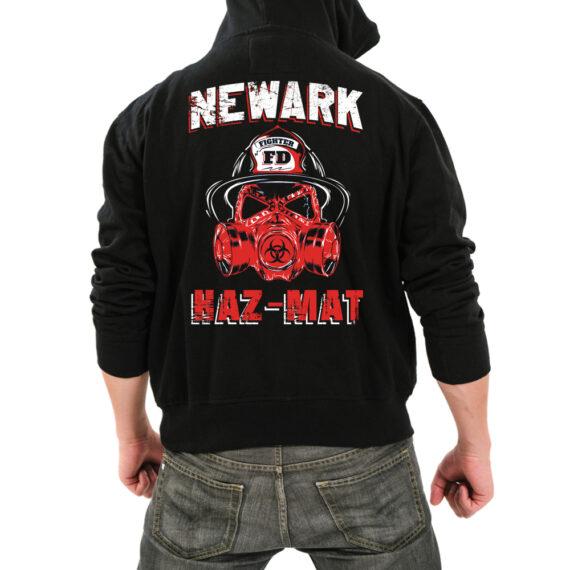 Newark Hazmat Blk HoodieBack
