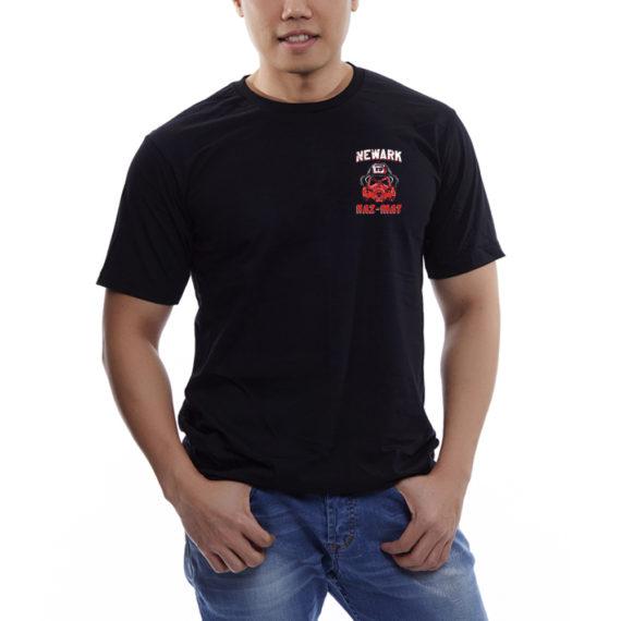 Newark Hazmat Blk Tshirt Front (1)