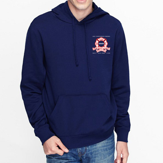 Engine 9 NAVY HOODIE – FRONT