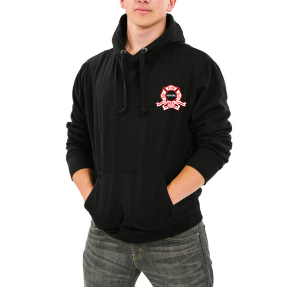 Camelot BLACK HOODIE – FRONT