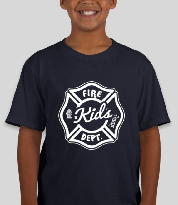 Fire Kids Navy Mockup – Front