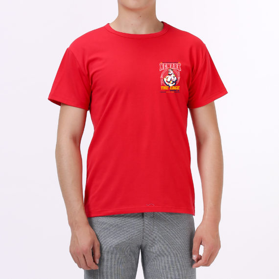 The Cage red tshirt men – front