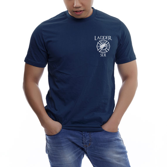King of the North NAVY TSHIRT – FRONT