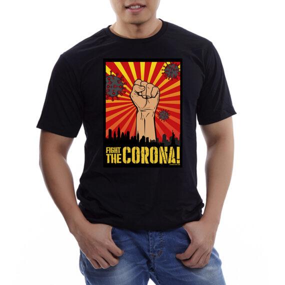 Fight the Corona Mockup – BLK