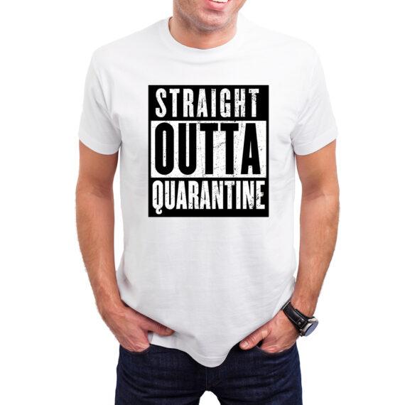 Straight Outta Quarantine Mockup – WHT